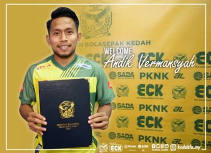 Andik Vermansah, Kedah, 09022018