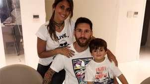 Leo Messi Thiago Antonella Roccuzzo 30 year Birthday party 24062017