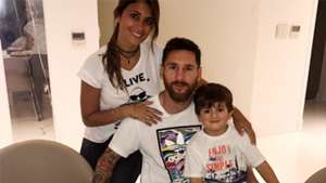 Leo Messi Thiago Antonella Roccuzzo 30 year Birthday party 24062017