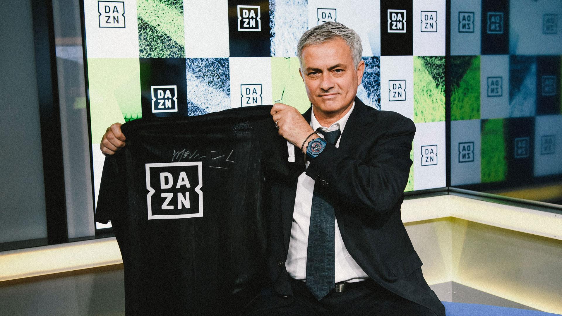 DAZN Jose Mourinho