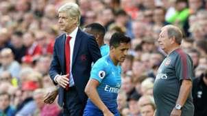 Alexis Sánchez, Wenger. Liverpool Arsenal 27082017