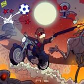 Cartoon: Messi the Terminator