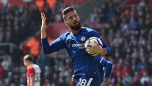 Olivier Giroud Southampton Chelsea Premier League