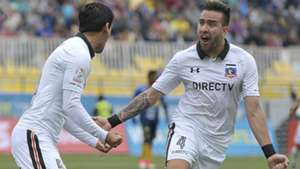 261117 Julio Barroso Matías Zaldivia Everton Colo Colo