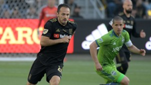 Marco Urena Osvaldo Alonso LAFC Seattle Sounders MLS