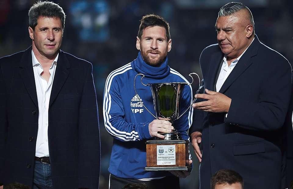Lionel Messi Argentina Copa San Juan