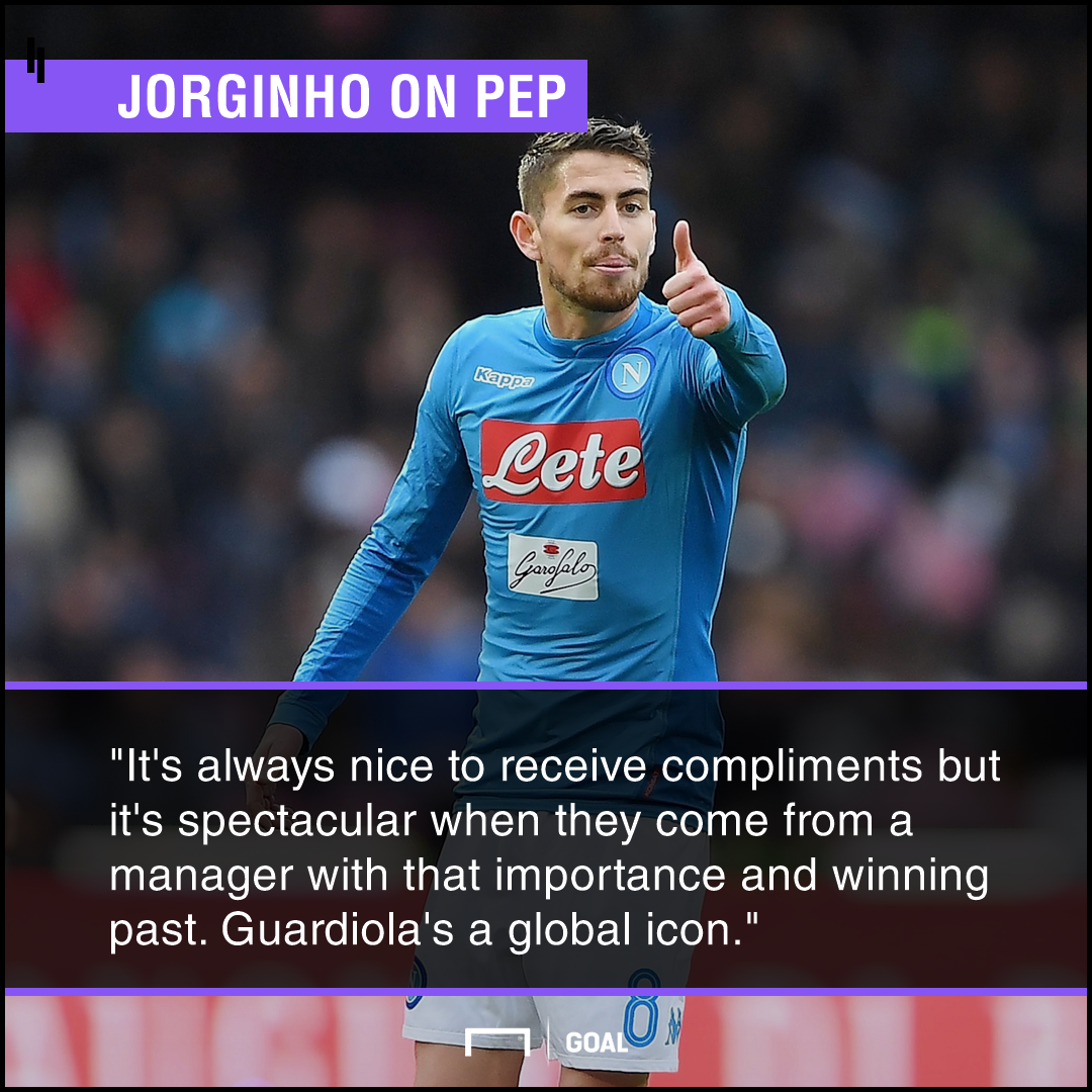 Jorginho Pep Guardiola PS