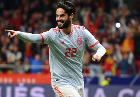 บุญติดจรวด! อิสโก้ช่วยนกน้อยออกจากสนามก่อนสเปนเฉือนอิหร่าน 1-0