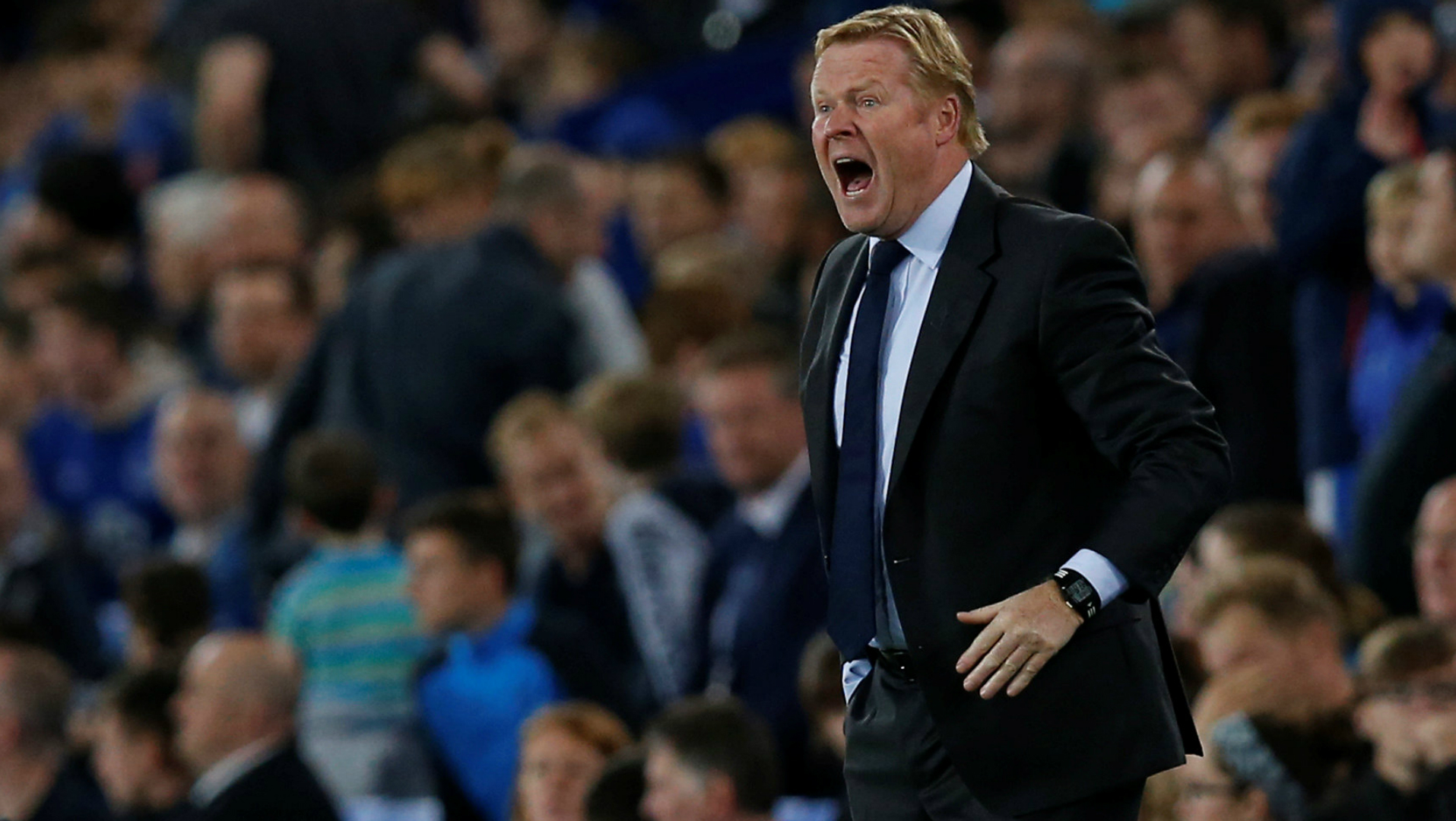 Ronald Koeman, Everton, Europa League, 08172017