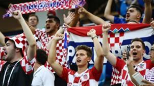 Croatia fans World Cup 01072018