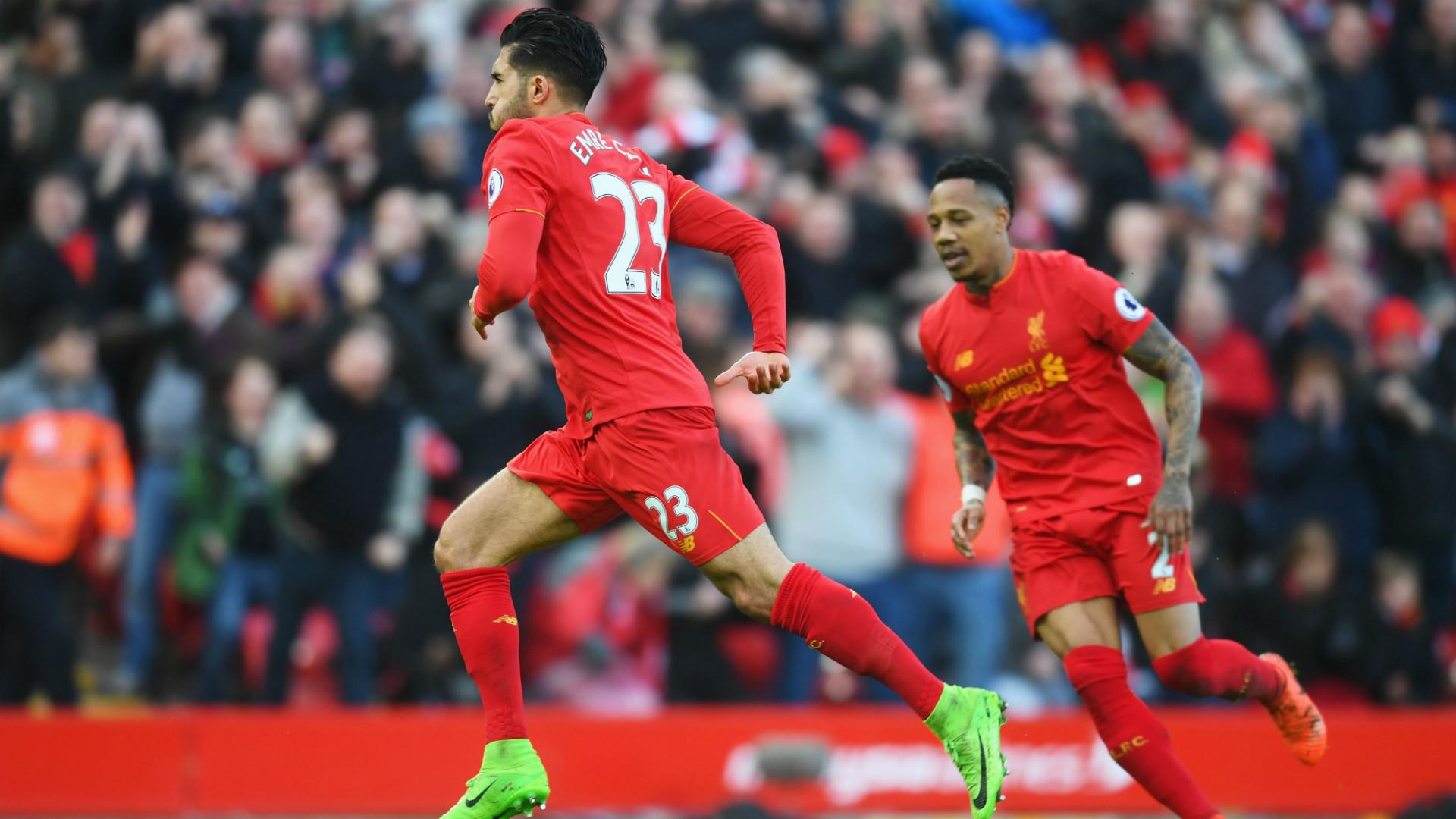 HD Emre Can Liverpool v Burnley