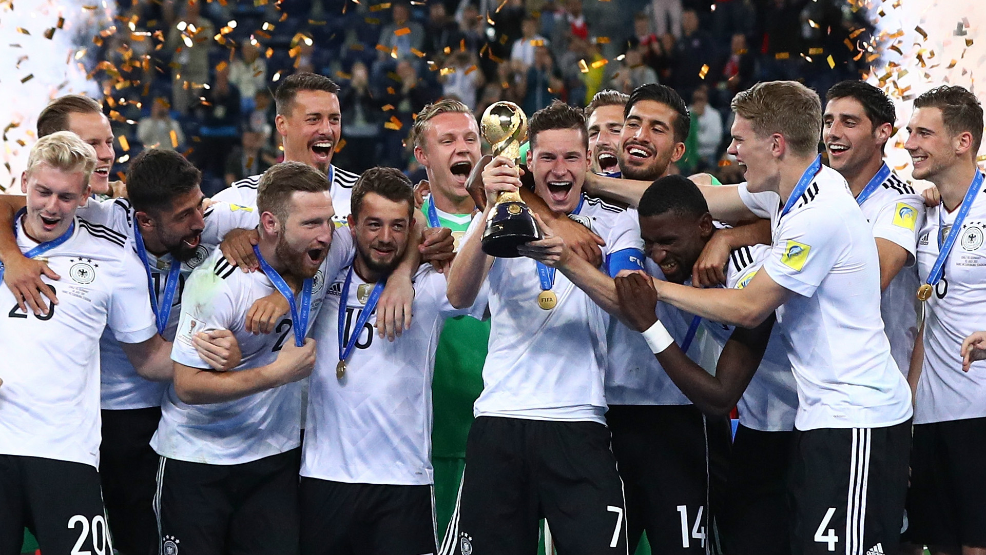 FIFA divulga seleções que serão cabeças de chave na Copa 2018