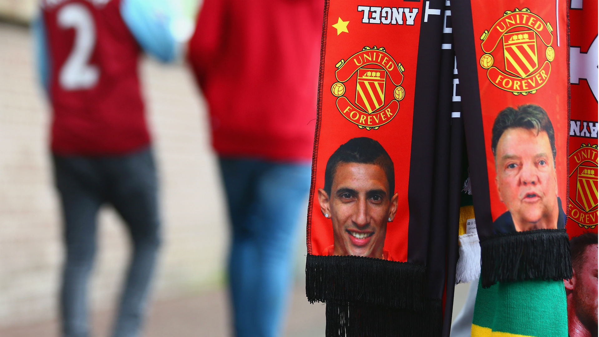 Van Gaal Di Maria Manchester United 28 02 2019