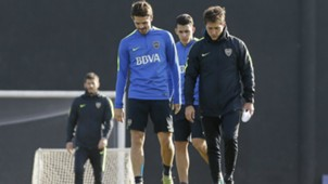 Fernando Gago Guillermo Barros Schelotto Boca Juniors 13062017