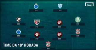 Seleção 10ª rodada do Brasileirão
