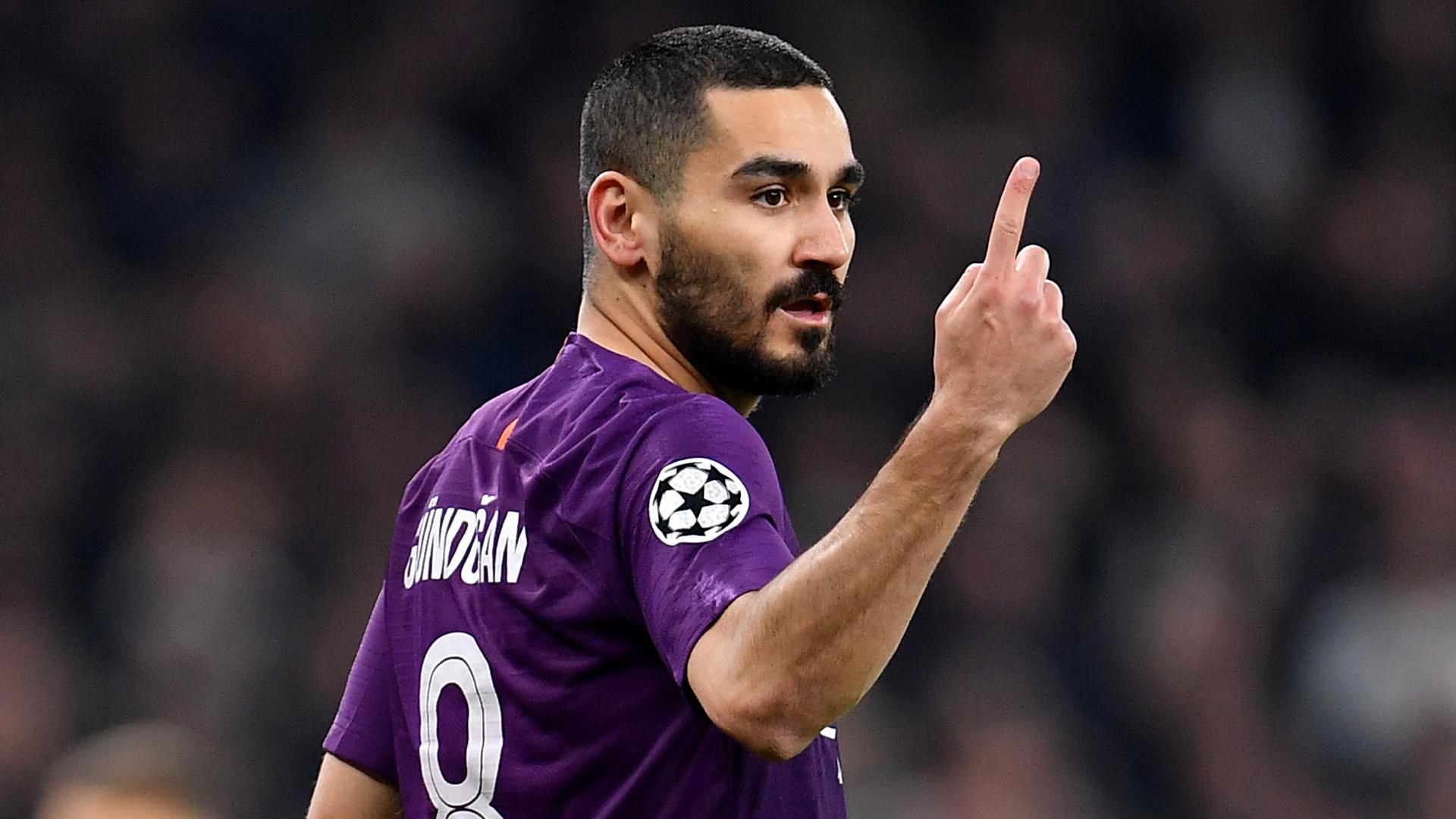 Ilkay Gundogan Man City 2019