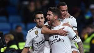 Sergio Ramos Real Madrid Leganes Copa del Rey 09012019