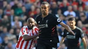 Saido Berahino Stoke Joel Matip Liverpool