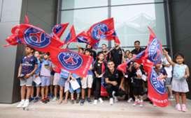 Fans PSG International Champions Cup 2018 Singapore