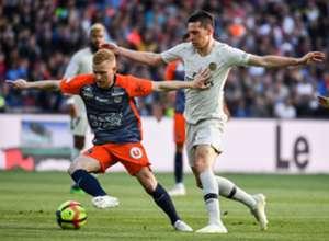 Florent Mollet Julian Draxler Montpellier PSG Ligue 1 30042019