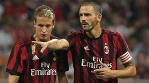 Bonucci Conti Milan Europa League