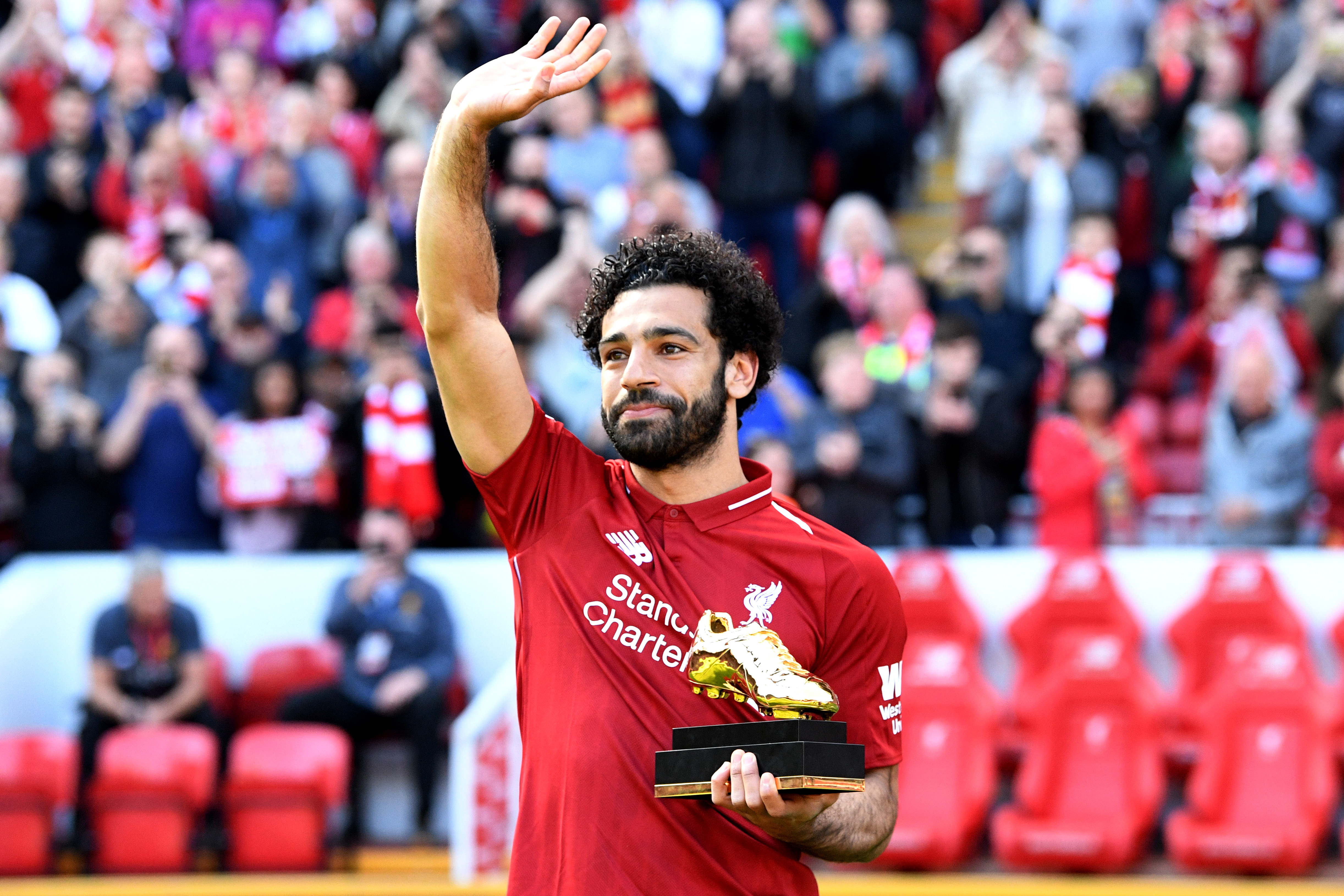 Salah golden boot