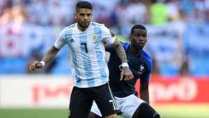 Ever Banega Paul Pogba France Argentina World Cup 30062018