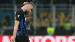 Milan Skriniar Inter Milan Europa League 2019