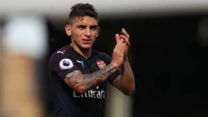 Lucas Torreira Arsenal Premier League 2018