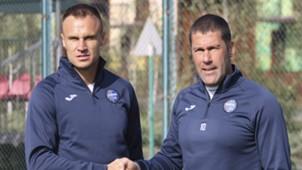 Владислав Гельзин и Вячеслав Шевчук