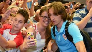 Luka Modric Croatia fans