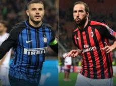Icardi Higuain Inter Milan
