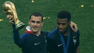 Antoine Griezmann Thomas Lemar France World Cup