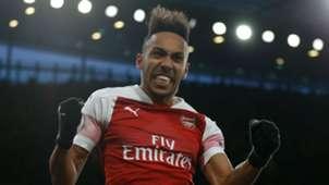 Pierre-Emerick Aubameyang Arsenal Manchester United 100319