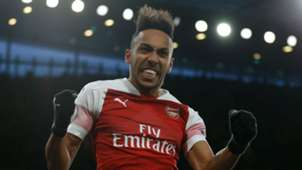 Pierre-Emerick Aubameyang Arsenal Manchester United 100319