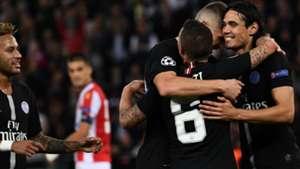 Edinson Cavani PSG Red Star Belgrad UEFA Champions League 03102018
