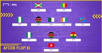 Afcon Flop XI