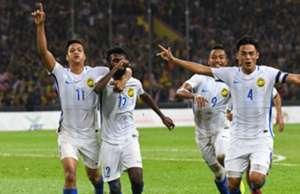 Jafri Chew, N. Thanalan, Adib Zainudin, Malaysia, 2017 KL SEA Games