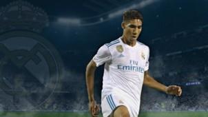GFX Achraf Hakimi Real Madrid