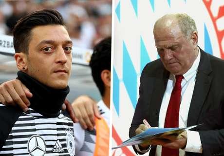 Ozil's agent hits back at 'idiotic, foolish' Bayern chief