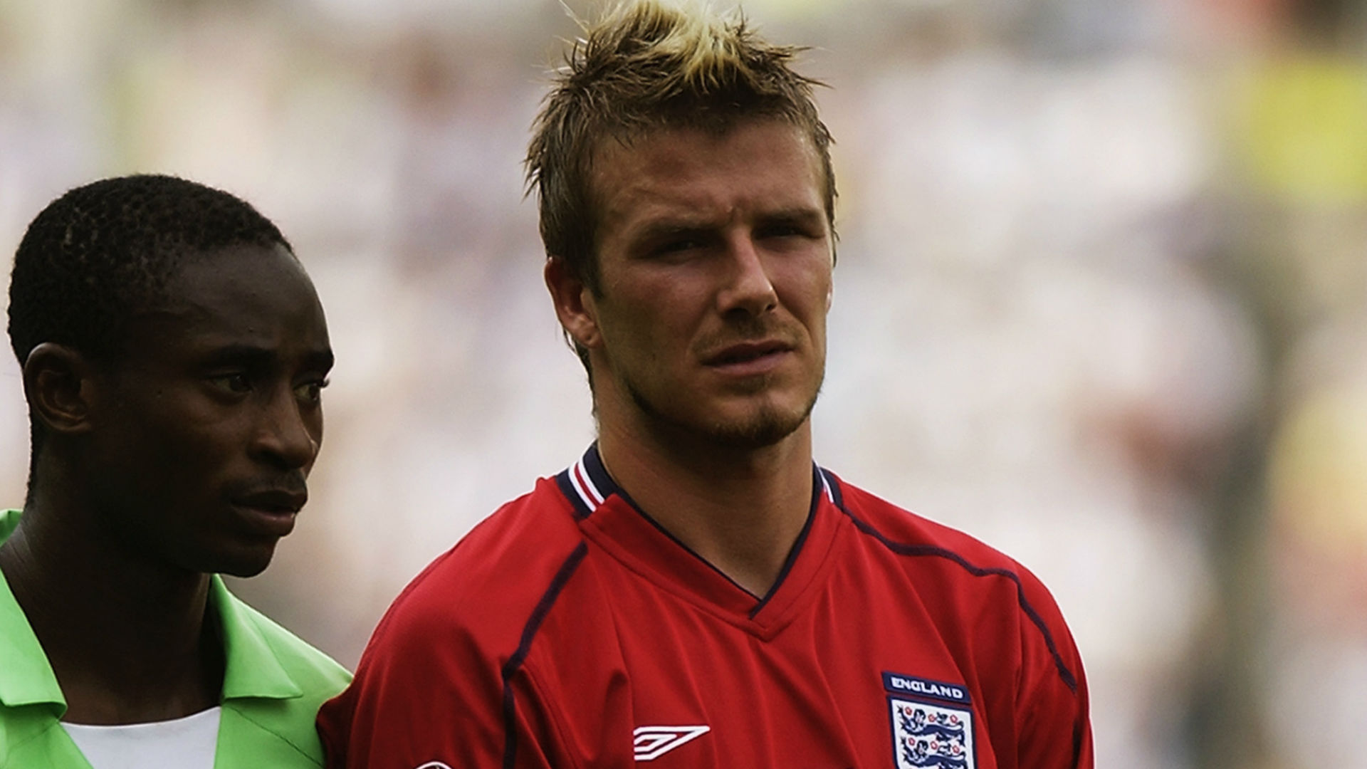 Femi Opabunmi Beckham 2002