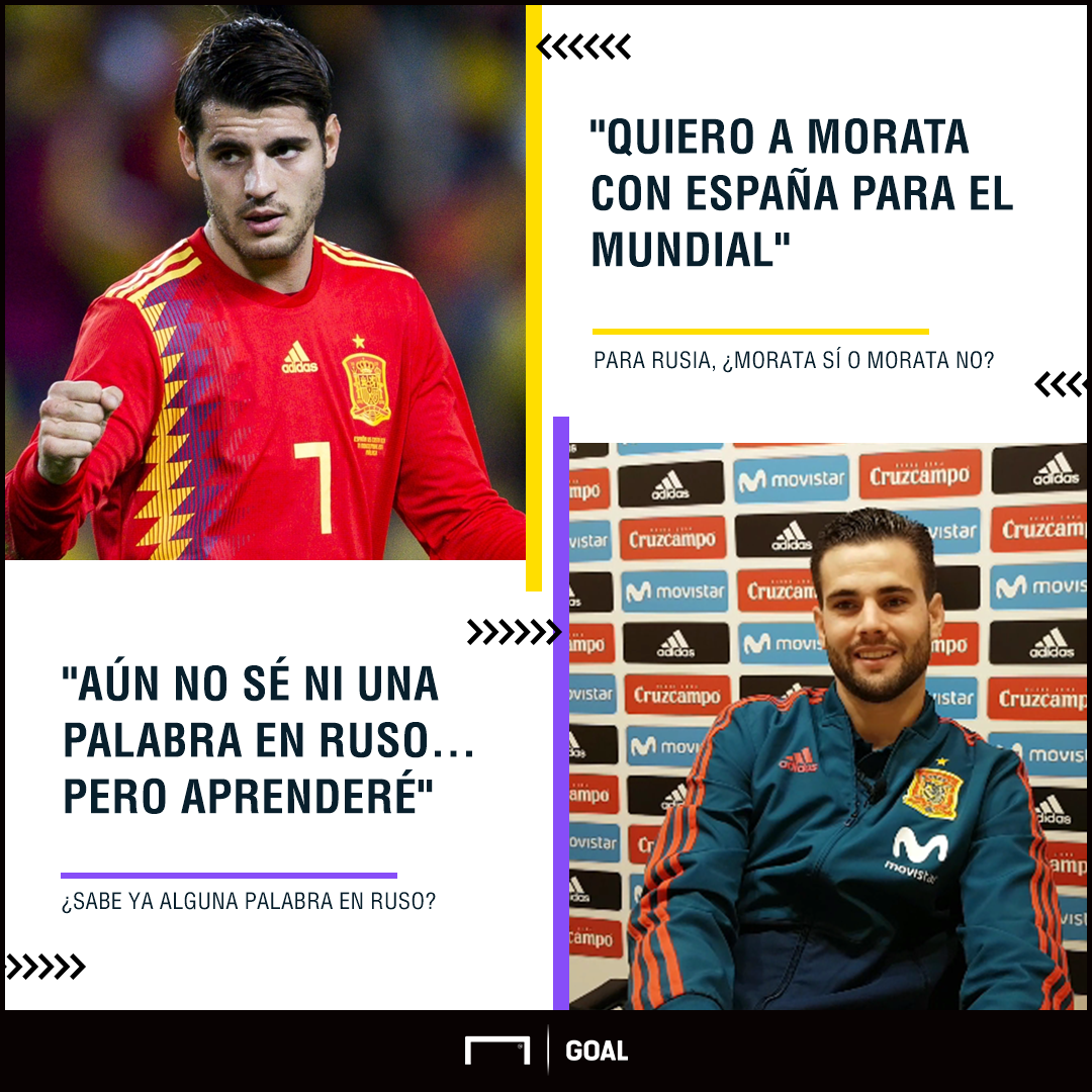 GFX Info Nacho Fernandez quotes during the interview with Goal