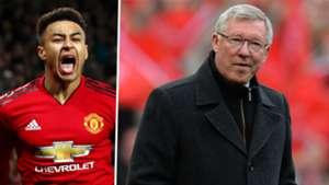 Jesse Lingard Sir Alex Ferguson Man Utd
