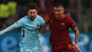 barcelona対roma,messi,kolarov