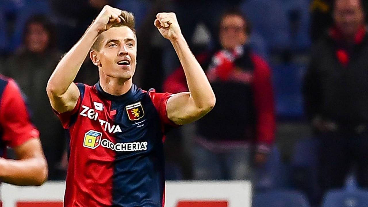 """Annoncé à Chelsea, la sensation du Genoa, Piatek, est """"en contact avec plusieurs clubs"""" d'après son agent"""