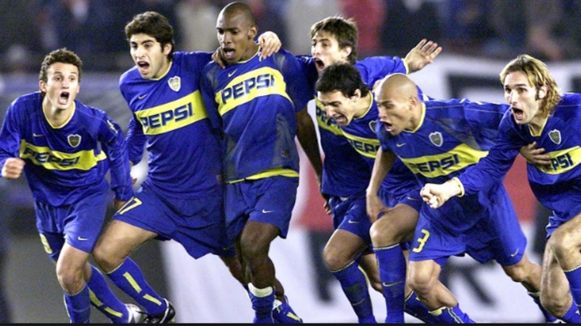River Boca Copa Libertadores 2004