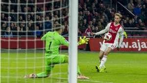 Frenkie de Jong, Ajax - Willem II, Eredivisie 11032018