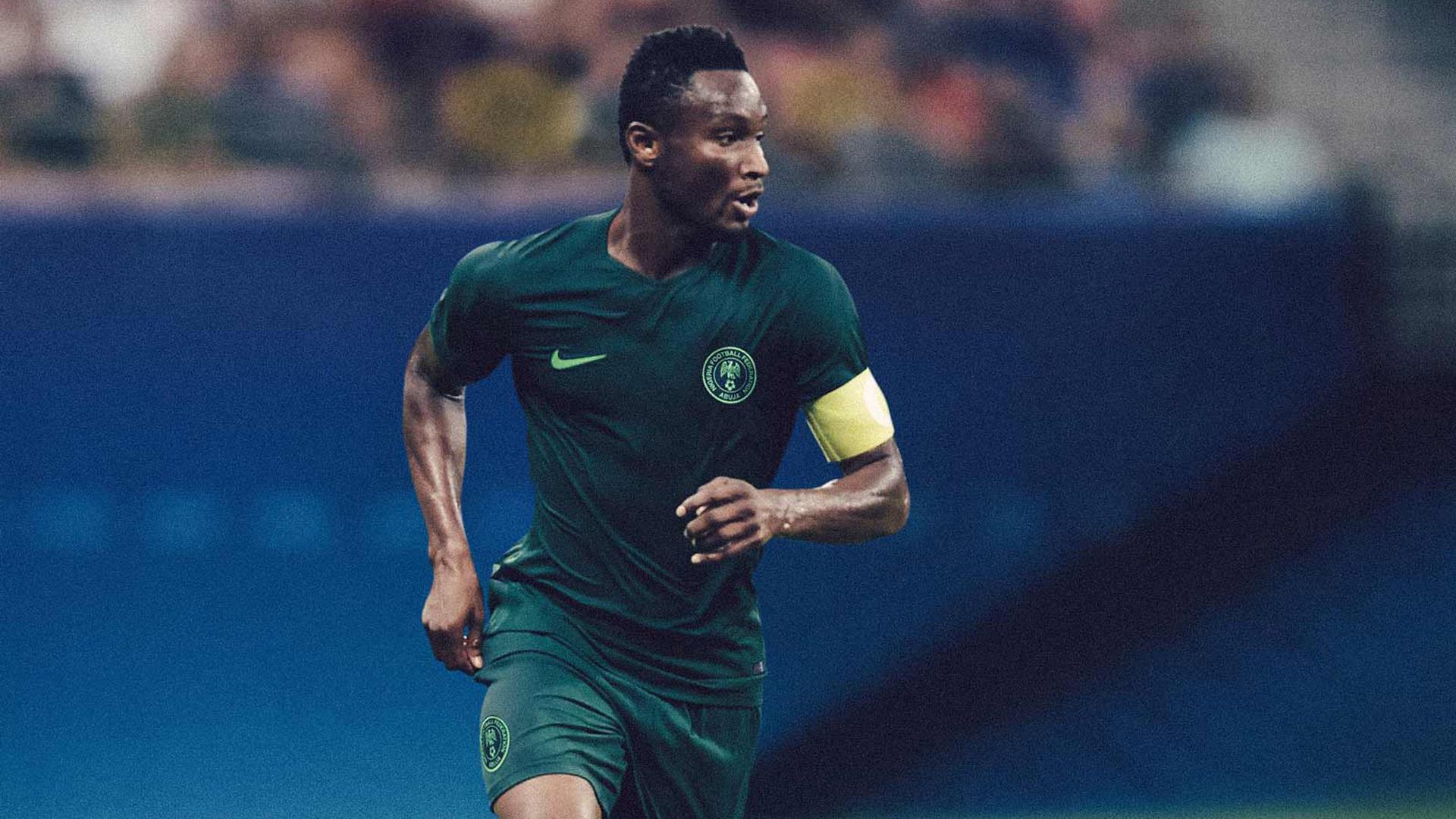 Nigeria Camiseta Alternativa Away Jersey 2018