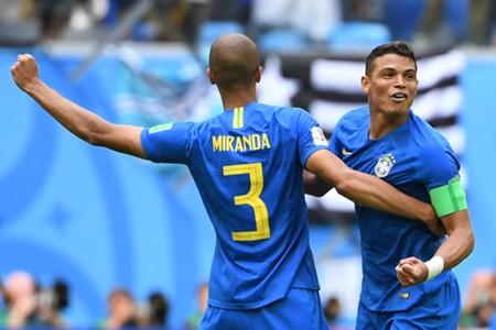 Thiago Silva Joao Miranda Brazil