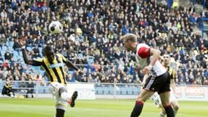 Nicolai Jörgensen, Vitesse - Feyenoord, Eredivisie 04232017